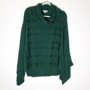 Umgee Oversized Sweater Womens Medium Green